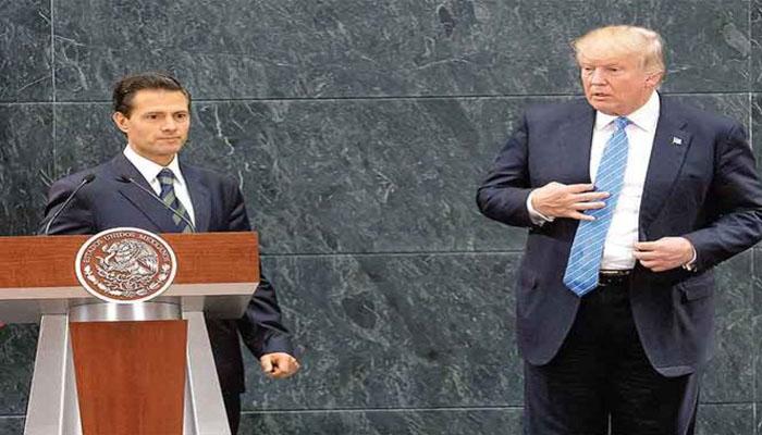 Peña y Trump se verán el 31 de enero